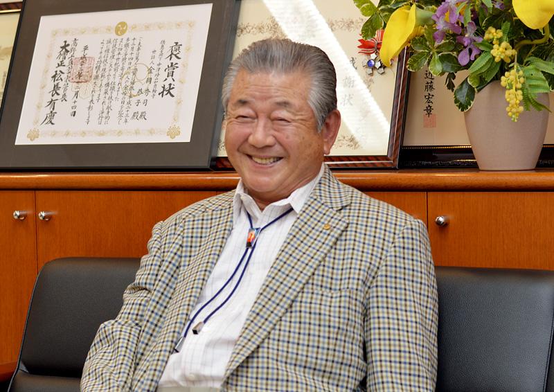 代表取締役 金岡秀司氏