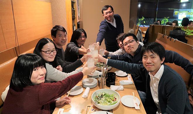 徳島開発室のメンバー