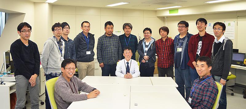 徳島の開発メンバー