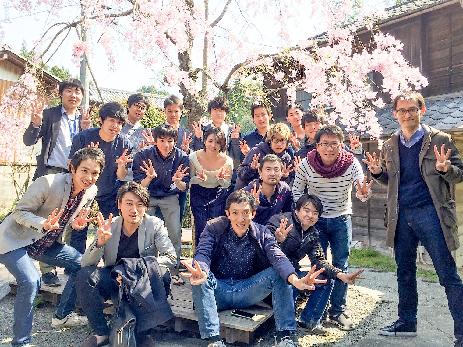 Sansan神山ラボは新卒研修にも使われています。