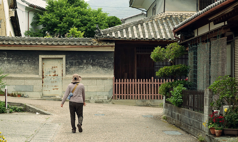 徳島市内の住宅地